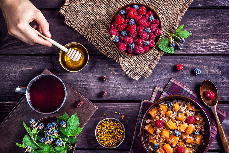 Nutrition, health, and food